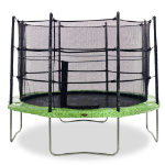 10ft trampoline with net