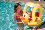 Inflatable Duck Baby Seat