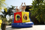 Inflatable playgrounds - LaughAndPlayOutdoors - Jumping Playground