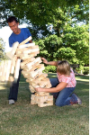 Jenga Hi-Tower Giant Tumbling Blocks