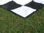 Giant Portable Chess Mat for Chess Game