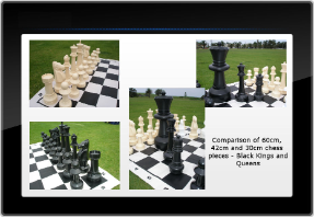 40cm Large Chess Set