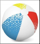 1.1m Lightweight BeachBall