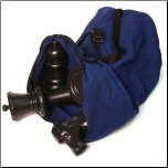 Large Heavy Duty Canvas Bag for 30cm Chess Set