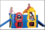 Maxi Climber  - With 2 Stairs / Slides