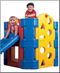 Activity Play Gym - Slide & Stairs
