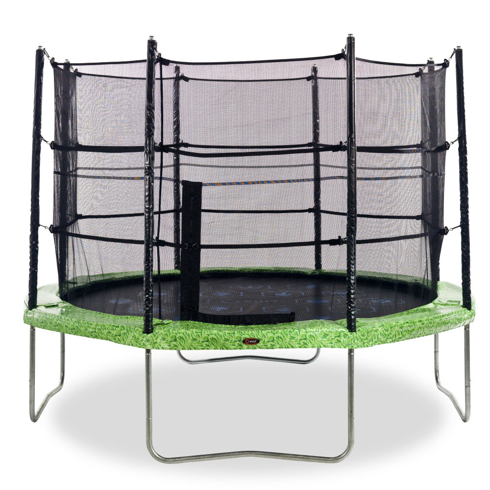 10ft Vuly Classic Trampoline FREE Tent & Ladder