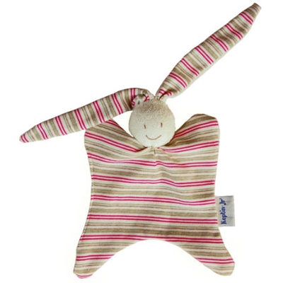 Organic Cotton Rabby Rattle
